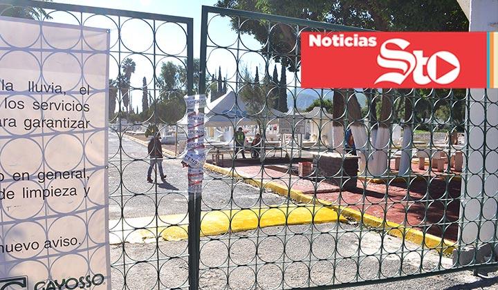 Panteón podría continuar cerrado