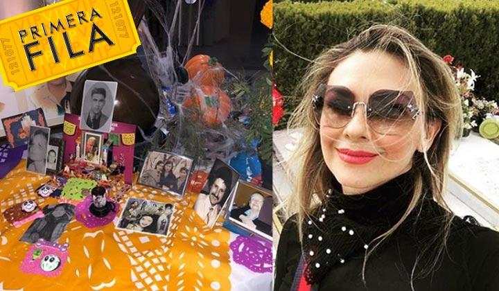 Arámbula confirma la muerte de Marcela, madre de Luis Miguel