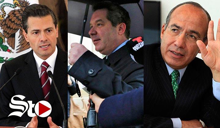 'Peña Nieto y Calderón recibieron sobornos'