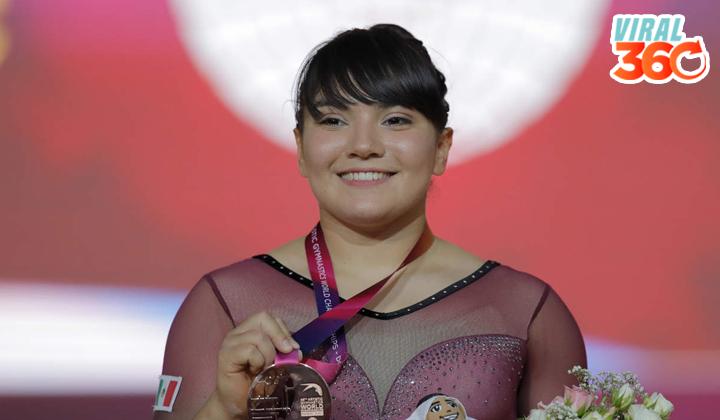 Alexa Moreno consigue histórica medalla en gimnasia