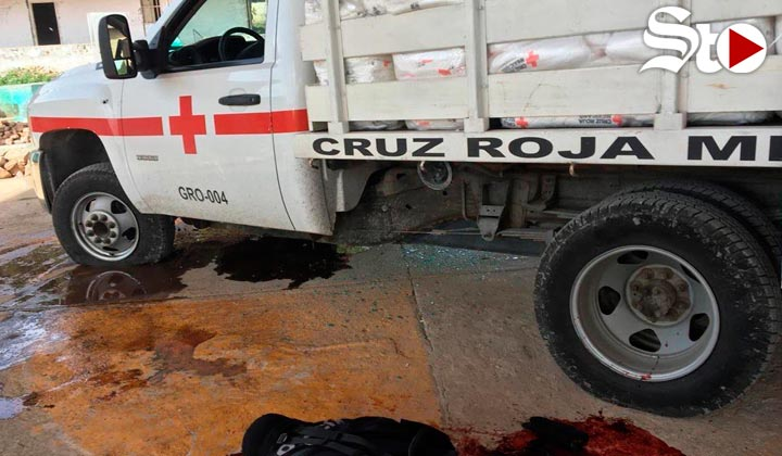 Grupo armado dispara contra ambulancias de la Cruz Roja