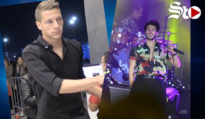 Furch captado en el concierto de Yatra en Torreón