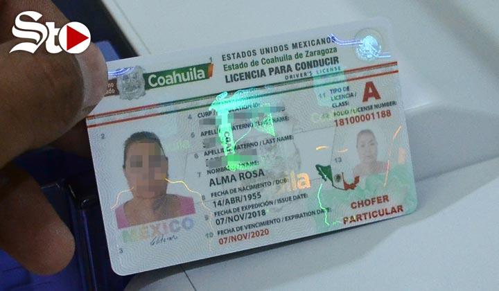 Nuevas licencias de conducir 'con candados de seguridad'