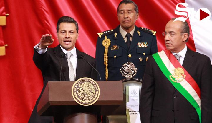 Peña Nieto se va reprobado en su sexenio