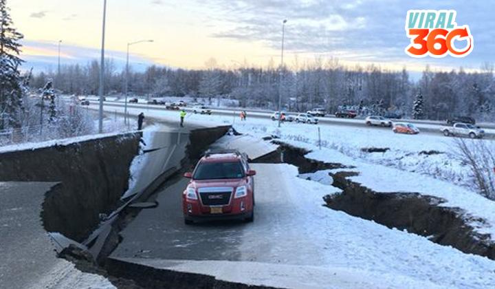 Terremoto de 7.0 de magnitud destroza a Alaska