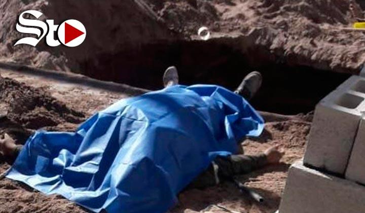 Trabajador muere sepultado en una construcción