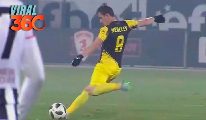 El espectacular gol marcado desde medio campo