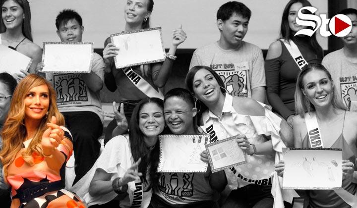 Ángela Ponce, la concursante trans ya se encuenta en Miss Univer