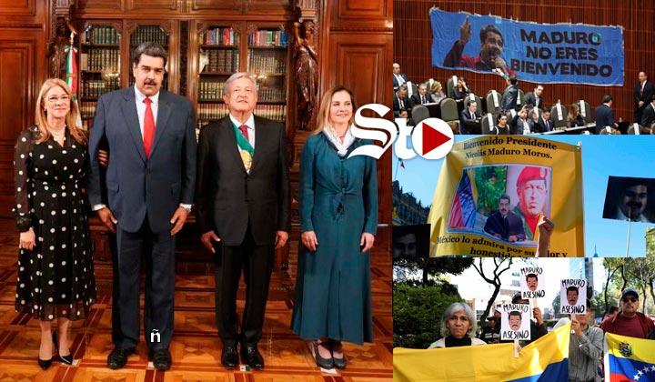 Nicolás Maduro agradece 'muestras de cariño' de México