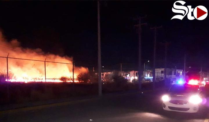 Se registran cuatro incendios en Gómez Palacio