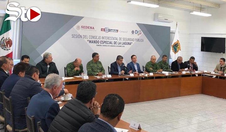 Gobernadores presiden Sesión del Consejo Interestatal