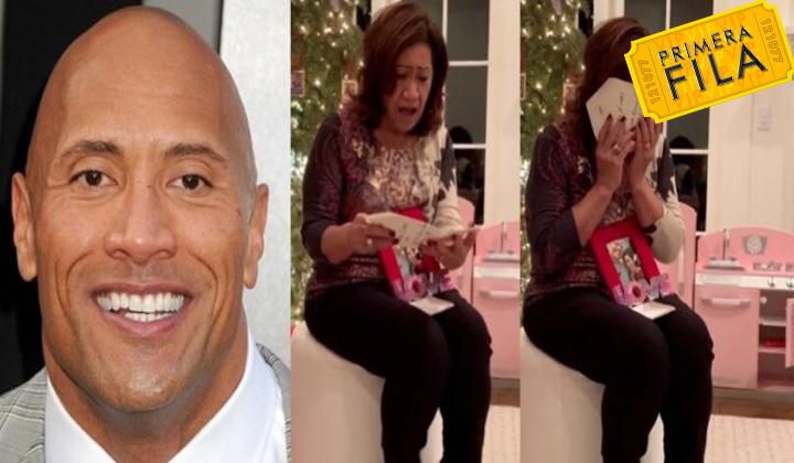 Dwayne Johnson le regaló una casa a su mamá