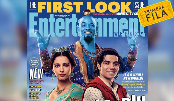 Primer vistazo a Will Smith como el Genio de Aladdin
