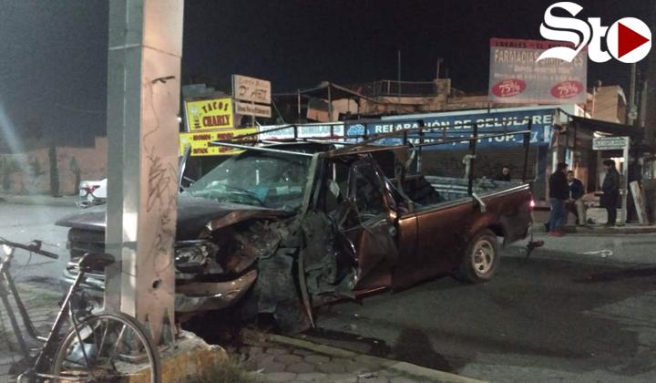 Conductor ebrio protagoniza accidente vial en Torreón