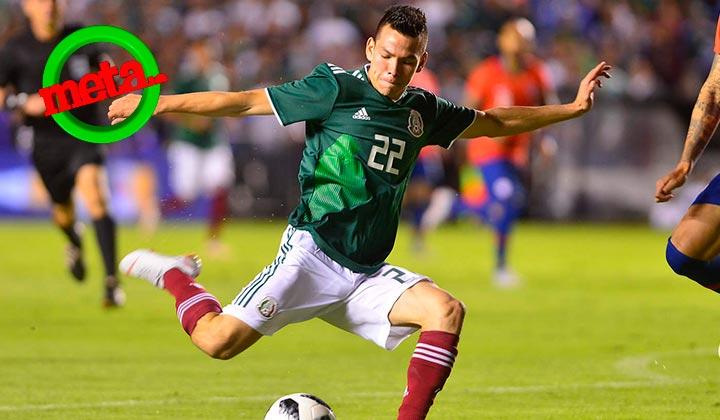 Lozano, elegido mejor jugador de Concacaf en 2018