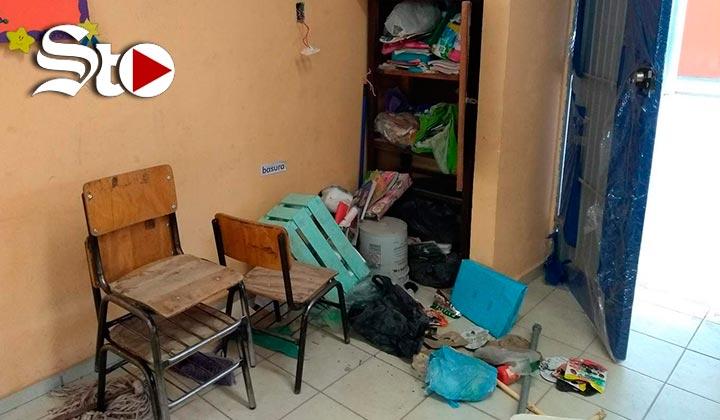 Roban por quinta ocasión a primaria de Gómez Palacio