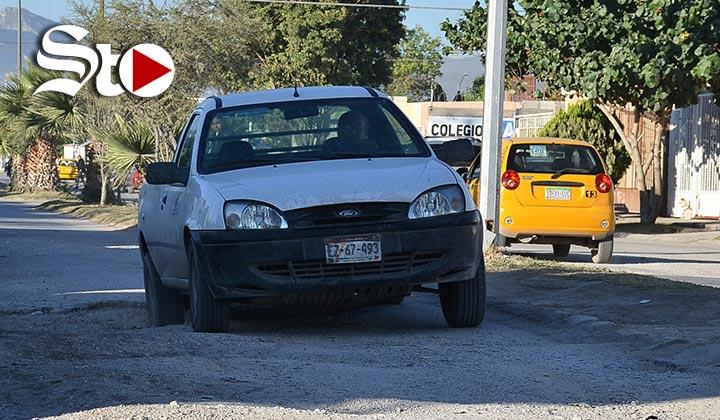 Pavimento encabeza lista de quejas en Torreón
