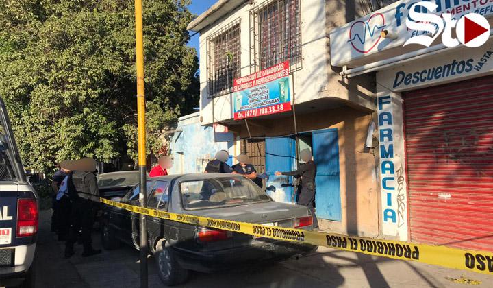 Asesinan a hombre en taller de reparaciones