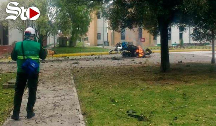 Atentado con 'carro bomba' deja 8 muertos en Bogotá