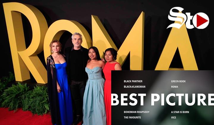 Roma hace historia con 10 nominaciones a los Oscar
