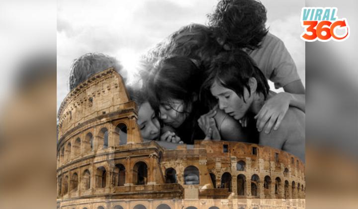 Recuerdan el error de Galilea Montijo y la película de Roma