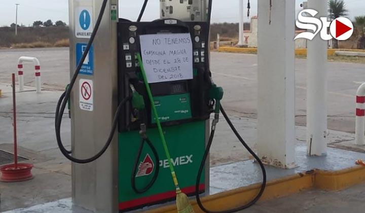 San Pedro presenta escasez de gasolina, se surten de Sinaloa