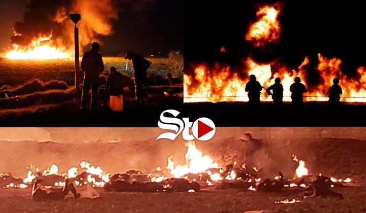 Tragedia en México tras arder toma ilegal