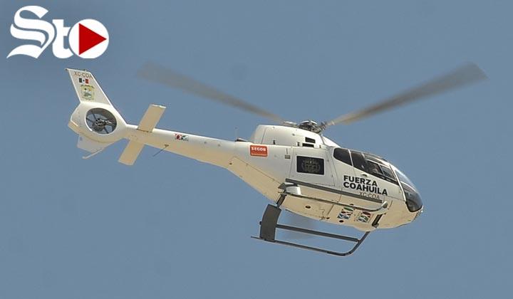 Justifican compra de nuevo helicóptero para seguridad en Coahuil