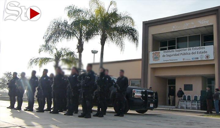 Crean policía elite para Matamoros, los capacitarán en 40 horas