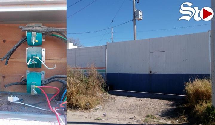 Se quedan sin agua al norte de Torreón por bomba vandalizada