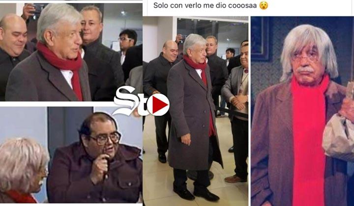 López Obrador al estilo 'Doctor Chapatín'