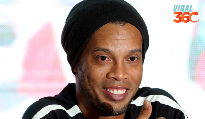 Justicia brasileña le prohíbe a Ronaldinho salir del país