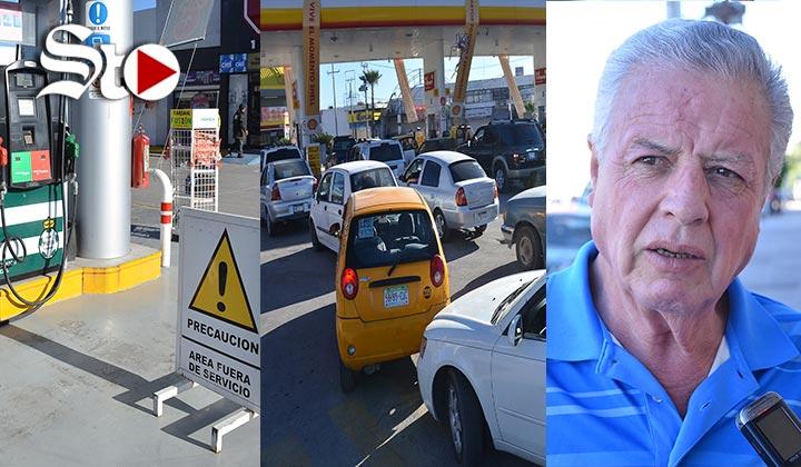 Hay sobredemanda de gasolina por alarma de ciudadanos: Zermeño