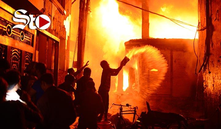 Mueren 70 personas en un incendio en Dacca