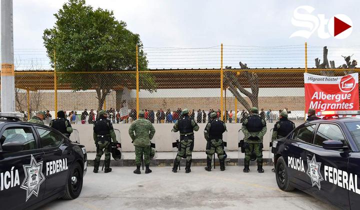 Extraen a 20 migrantes de albergue; son 'maras'