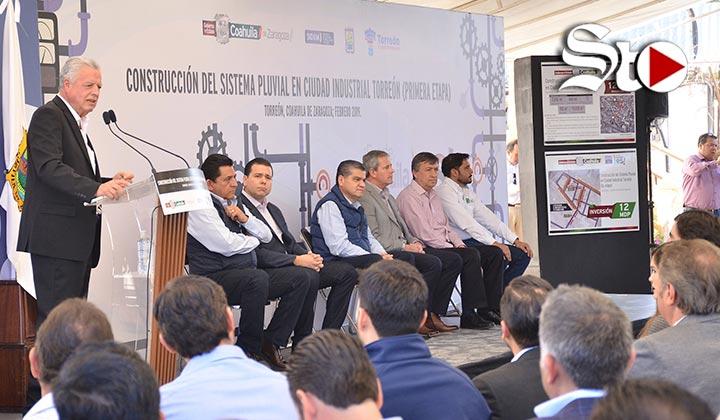 Drenaje pluvial para zona industrial de Torreón