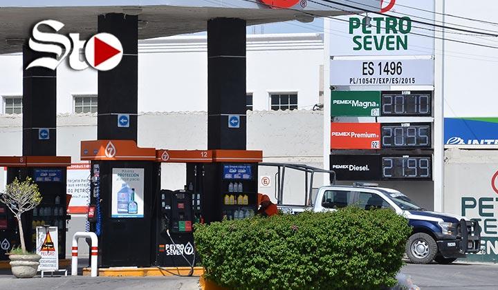 Se vende gasolina magna hasta en 20.10 pesos el litro