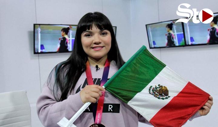 Alexa Moreno llega a la final del Mundial de Gimnasia