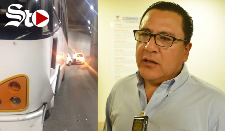 Rolando Anaya reconoce choque; peritaje no aparece