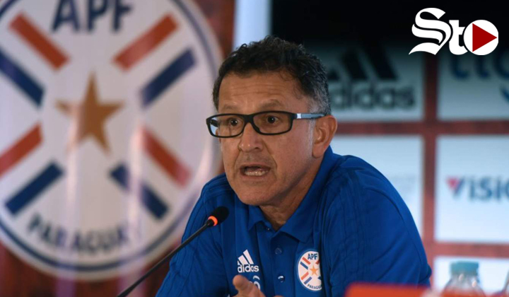 Osorio deja el cargo de seleccionador en Paraguay