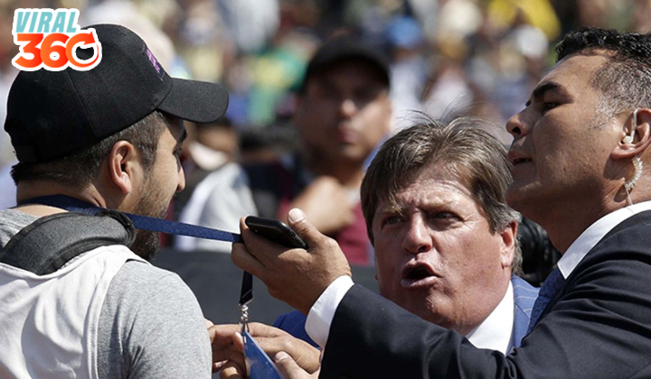 Periodista grita 'Perdedor' a Miguel Herrera