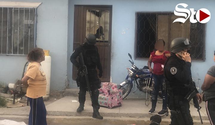 Sujetos disparan contra una vivienda en Torreón