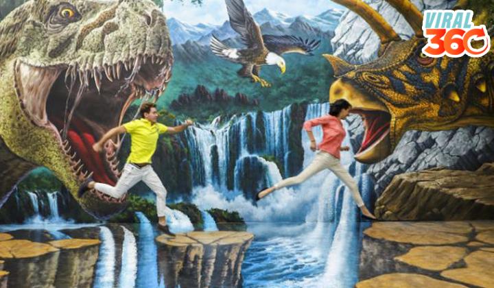 Trick Eye, el museo de realidad aumentada en México