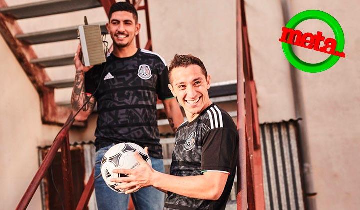 Presentan nueva armadura para México en la Copa Oro