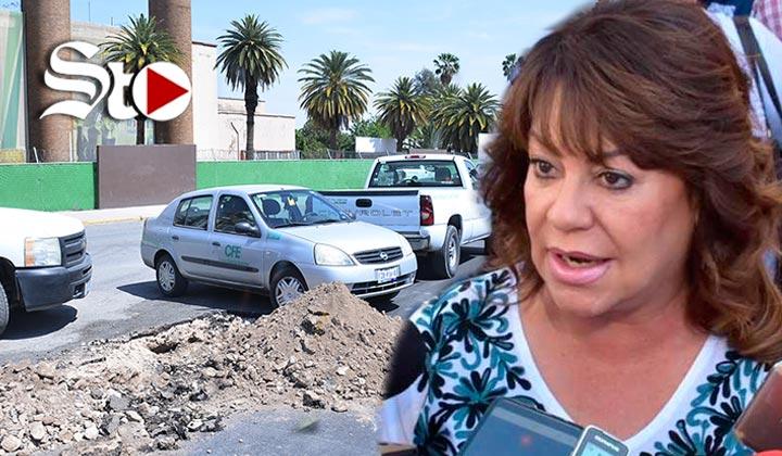 Corte de servicios a CFE es un acto de justicia: Leticia Herrera