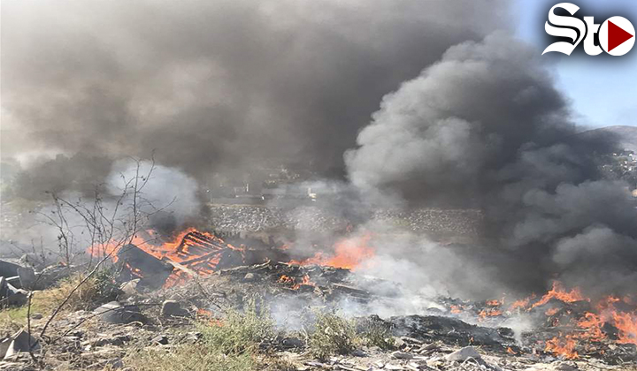 Vuelven a incendiar basurero en la colonia El Consuelo