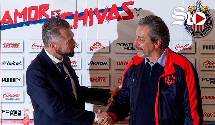 Presentan a Tomás Boy en Chivas