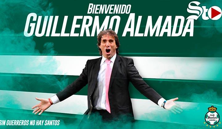 Santos confirma a Guillermo Almada como nuevo técnico