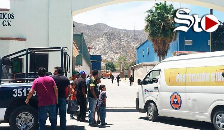 Explosión en empresa de Torreón deja 10 lesionados