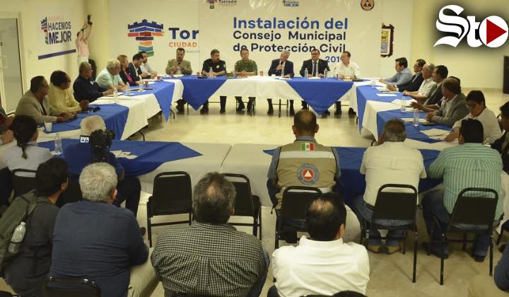 Instalan Consejo Municipal de Protección Civil 2019